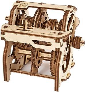 UGEARS- Stem Lab Puzzle Kit CTIM de Modelo de Caja de Cambios-maquetas para Montar Adultos-Kits de construcción 3D Inclu (1)
