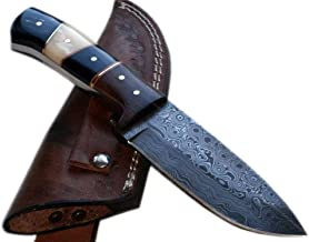 Poshland Price Reduced - BC-T-1092 - Custom Handmade Damascus Steel Knife- Beautiful Knife
