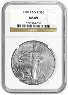 2009 Silver Eagle $1 MS-69 NGC