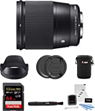 Best sigma 16mm 1.4 for video Reviews