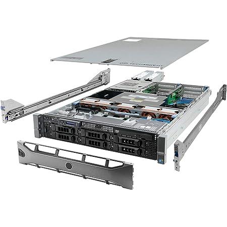 High-End Virtualization Server 12-Core 128GB RAM 12TB RAID Dell PowerEdge R710 Bezel and Rails (Renewed)