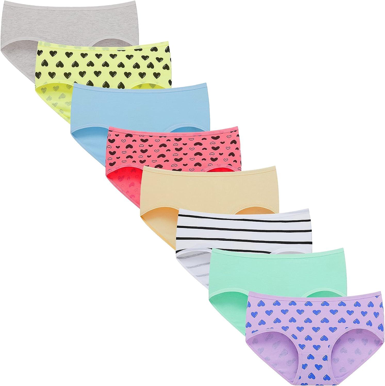Linabor Teen Girls Underwear Max 63% OFF Comfortable Soft Regular discount Briefs Childr Kids