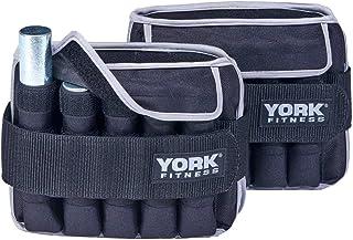 York Fitness 2 x 5kg Pesas de tobillo