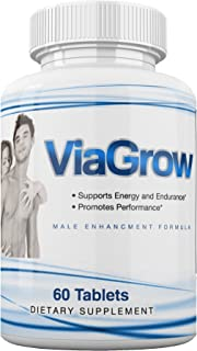 #1 Rated Male Enhancement Testosterone Booster - 60 Capsules - Increase Stamina, Size, Energy & More 1 Month Supply