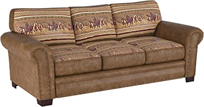 Amazon.com: Astor sofá de Kyle schuneman, Tela, Azul Océano ...