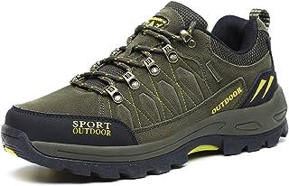 e7079e8ad NEOKER Scarpe da Trekking Uomo Donna Arrampicata Sportive All'aperto  Escursionismo Sneakers Army Green Blu