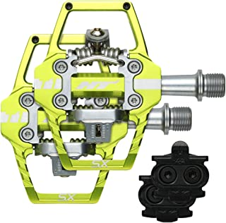 T1-Sx Bmx Pedals Apple Green 68X84x17mm Cleat Included