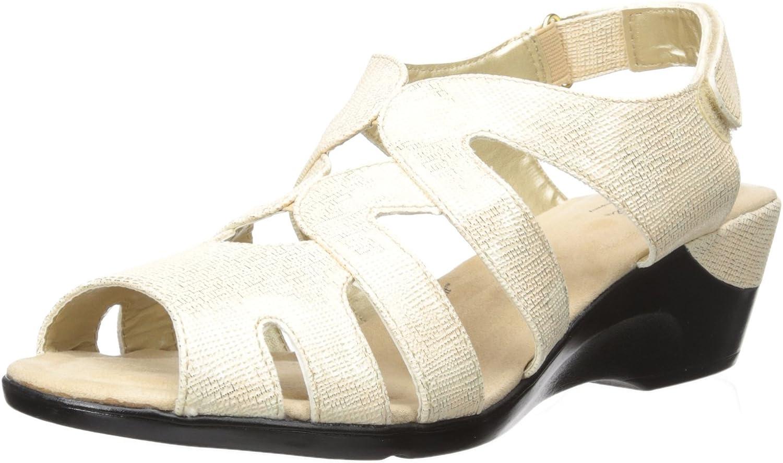 Soft Style by Hush Puppies Woherren Patsie Wedge Sandal Sandal Sandal  673619