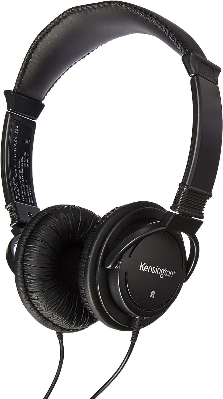 Kensington Products - Hi-fi Headphones Drive 9' Elegant Bla 40mm Cord New products, world's highest quality popular!