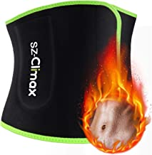 SZ-Climax Taille trimmer - versnelt gewichtsverlies, vetverbranding, rugondersteuning, neopreen sauna-afslankriem, beste b...