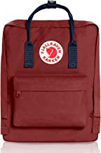 Fjallravens- Kanken Classic backpacks for Everyday,Outdoor Bags,Sweden Laptop,Greenland Zip wallet,Raven,Re-Kanken ,mini,Raven (Ox Red/Royal Blue)