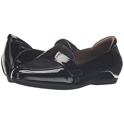 Earth Bremen Earthies (Black Crinkled Patent) Women
