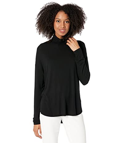 Majestic Filatures Soft Touch Semi Relaxed Long Sleeve Drop Shoulder Turtleneck