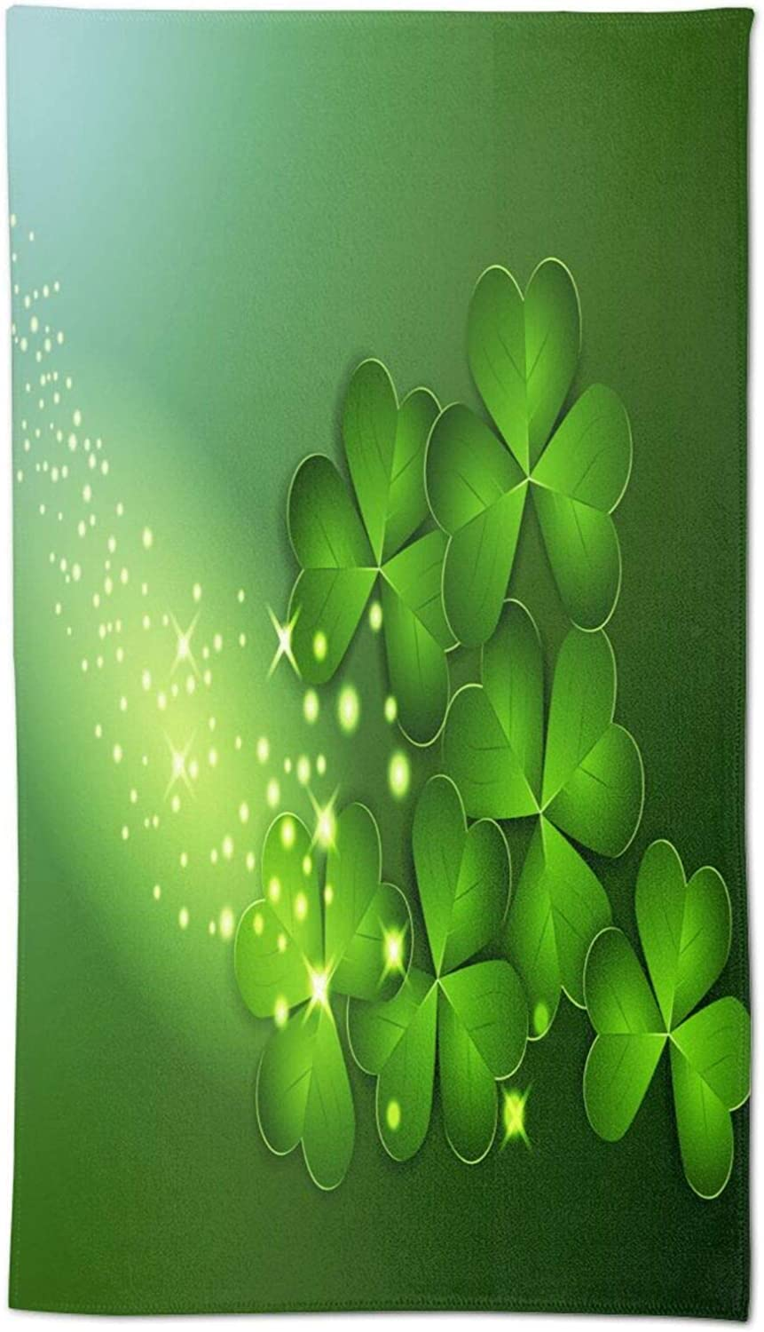 Fixed price for sale Ouqiuwa Soft Happy Saint Patricks Same day shipping Day Hand in 27.5x15.7 Towels T