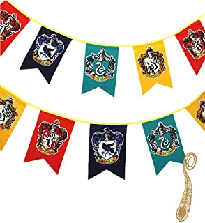 birthday decor for harry flag potter Wall Banner, gryffindor