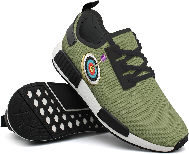 Arrows And Target Clip Art Men Comfortable Unique Design Running shoes Cool Mens Guys