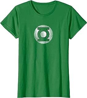 Green Lantern Logo Distressed T-Shirt