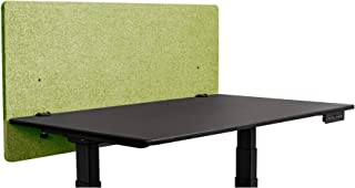 ReFocus Acoustic Desk Divider   Desk Privacy Panel – Reduce Noise and Visual Distractions with This Easy-to-Install Desk Screen (48