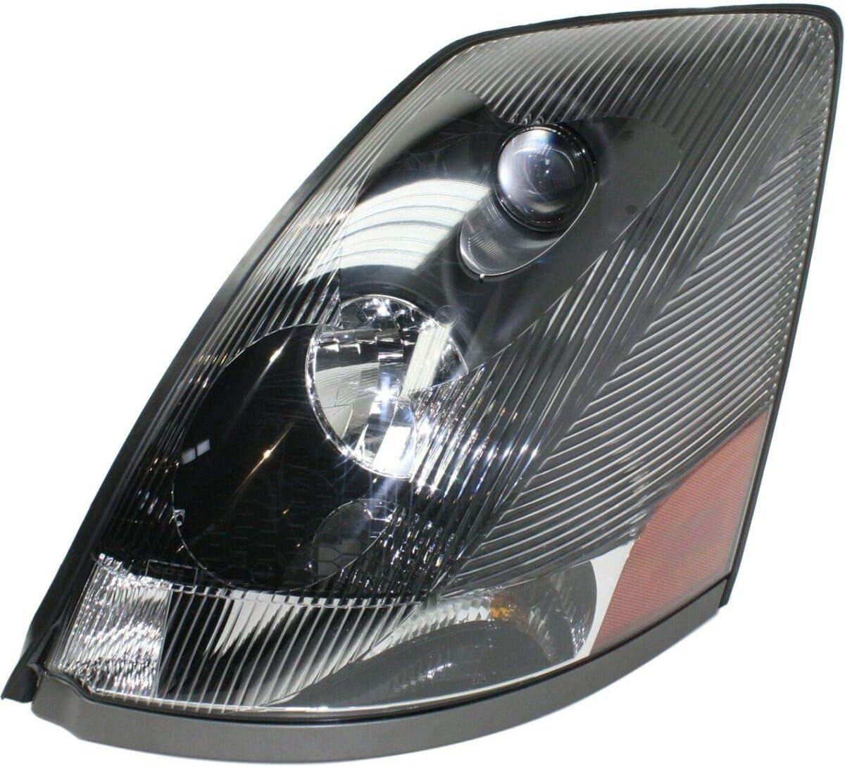 Headlight Headlamp Black Bezel Aero wholesale Lens Sales Left Driver LH Side Com