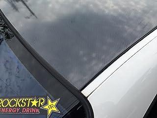 つやあり5Dカーボンシートブラック 152cm×2m 3Dベース 艶ありルーフ施工に最適 黒 [並行輸入品]