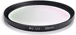 multicoated para Olympus M.ZUIKO Digital ED 40?150mm 1:4.0?5.6 R Ares Foto/® Filtro de protecci/ón UV 58mm