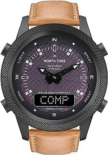 Yorten Solar Power Multifunctional Watch Outdoor Intelligent Sports Watch Compass Watch Waterproof Bracelet for Outdoor Ca...