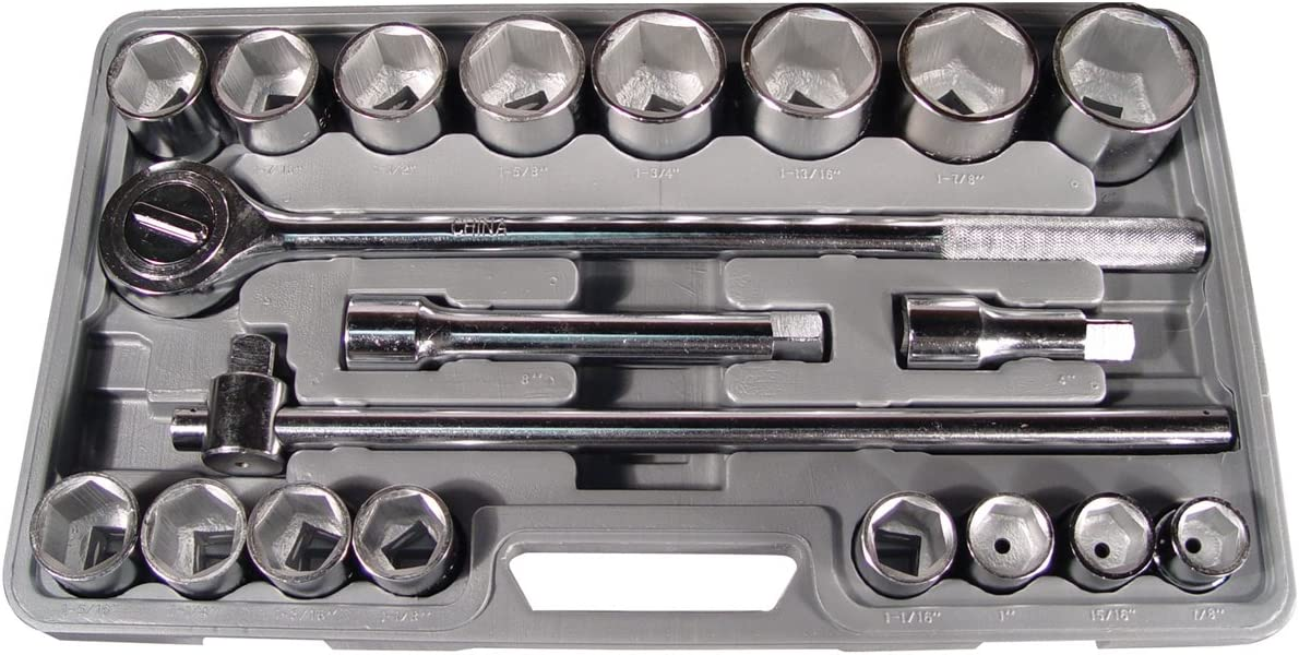 Astro Pneumatic 2134 3 Don't miss the campaign 4-Inch Square 21 PC Raleigh Mall Drive Socket Set