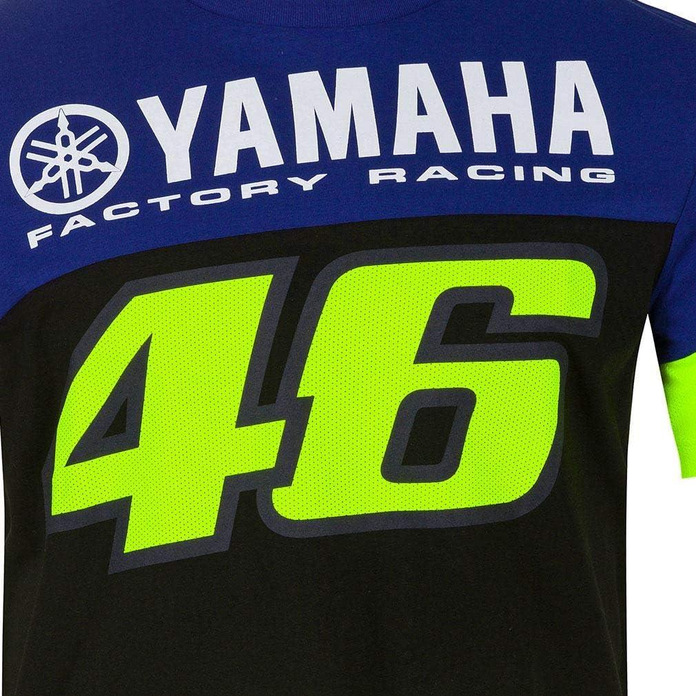 Valentino Rossi T Shirt Vr46 Motogp M1 Yamaha Factory Racing Team Official 2020 Bekleidung