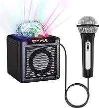 EARISE T12 Kinder-Karaoke-Maschine mit Mikrofon, drahtloser Karaoke-Mikrofon..