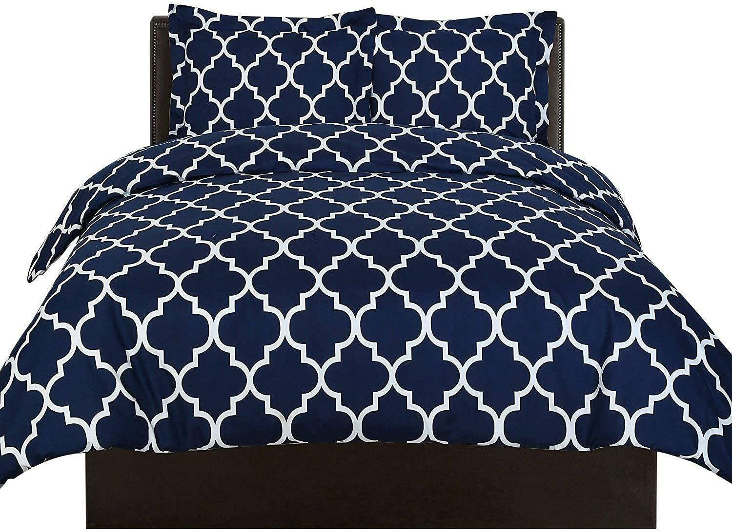 Ranking TOP18 Printed Duvet Limited price Cover Set with 2 Brushed Microfiber D Pillow Stain