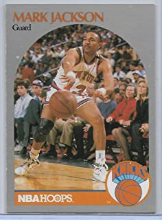1990-91 NBA HOOPS SERIES 1 MARK JACKSON MENENDEZ BROTHERS ROOKIE CARD # 205