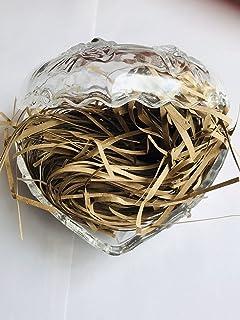 Brown [khakhi] Easter Basket Grass Shredded Paper Grass for Easter Decoration Hamper Filling and Gift Packaging or basket ...