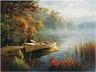 Ashley Furniture Signature Design - Astro Waterscape Scenery Wall Art - Multi-Color
