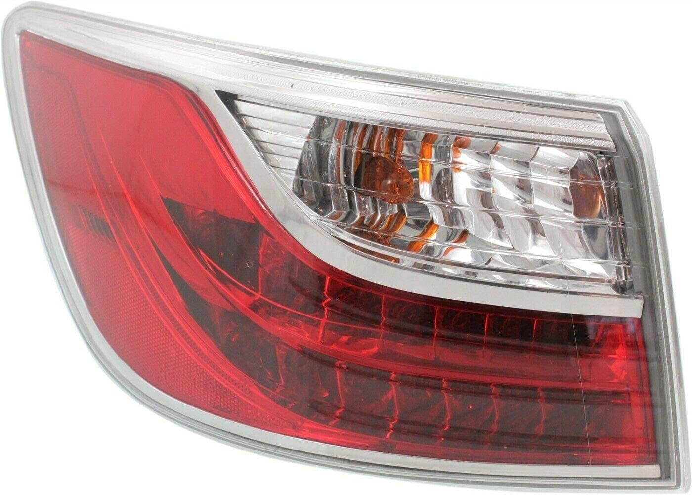 Left Outer Tail Lamp Assembly Fit TE6951160E MA2804110 Virginia Beach Mall Albuquerque Mall 2010-2012