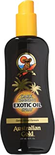 Australian Gold Oil Exotic 8 Ounce Spray With Carrot & Teatree Oils (235ml) (2 Pack)