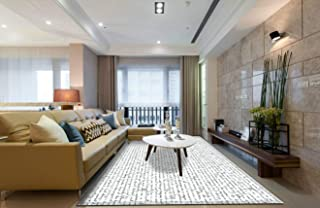 Area Rug and Carpet for Home Living Room, Pride and Prejudice text Large Anti Slip Contemporary Rug for Floor Home Door