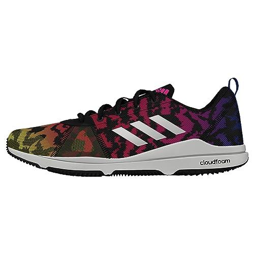 new style ad923 d0c38 adidas Damen Arianna Cloudfoam Hallenschuhe