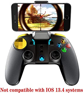 iPEGA-PG-9118 Wireless Gamepad Joystick Multimedia Game Controller Compatible Android Device Phone8/XR/XS Compatible Samsung Galaxy S9/S9+ S10/S10+ VIVO X27 Android Tablet PC