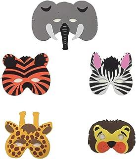 5 Pieces Kids Party Foam Mask-Animals