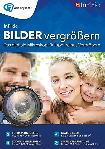 Bilder vergrößern - Das digitale Mikroskop für lupenreines Vergrößern! Windows 10|8|7|Vista [Online Code]