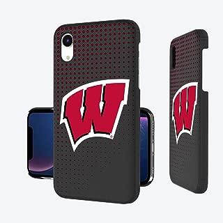 Keyscaper KSLMXR-0WIS-DOTS01 Wisconsin Badgers iPhone XR Slim Case with UW Dots Design