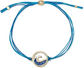 Luca + Danni Wave Adjustable Cord Bracelet for Women Made in USA