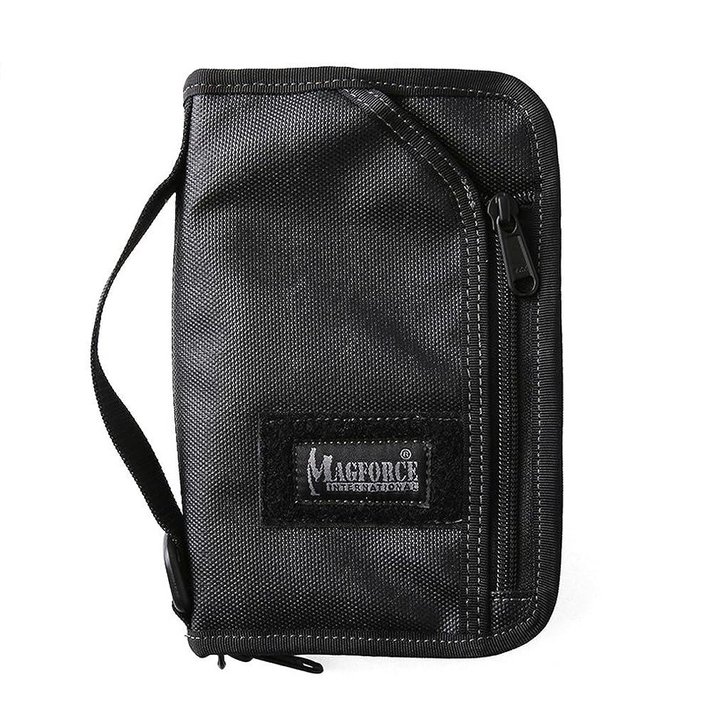 献身測定アクセスできないMAGFORCE マグフォース MF-0820-02 Travel Passport Pouch Black /mag040405109