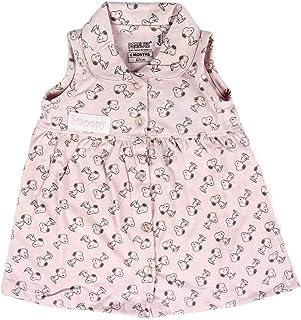 Artesania Cerda Baby-Mädchen Vestido Single Jersey Snoopy Strampler