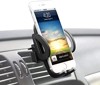 TIANYI Car Air Vent Phone Holder Car Phone Holder Universal One Touch car holder car mount Compatible for iPhone Xs X XR 6...