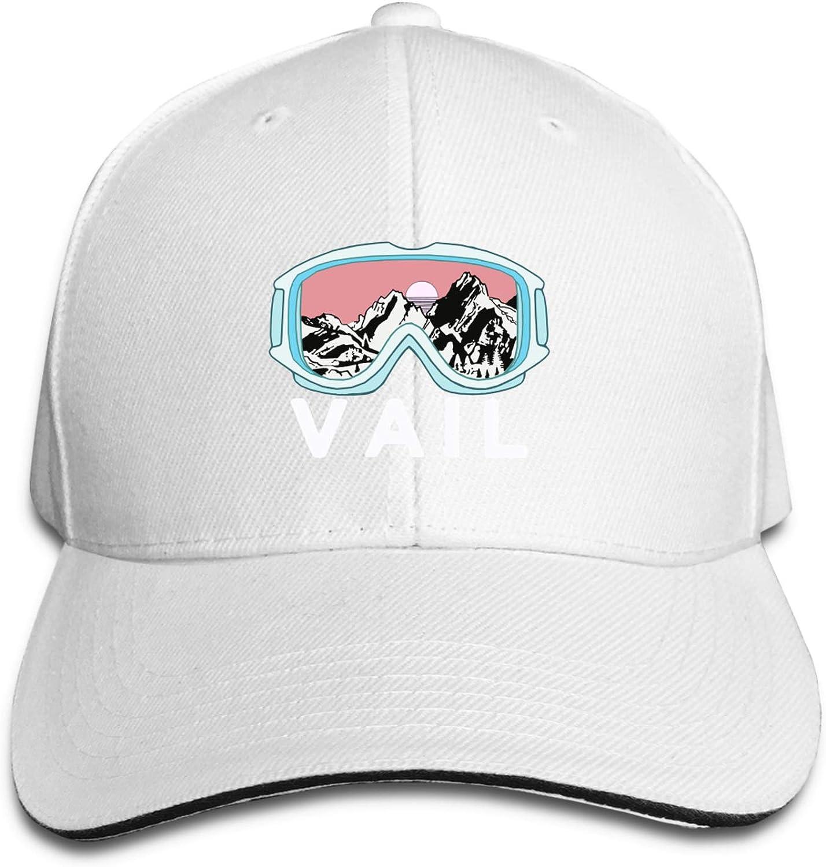 DRKFOP Snowboard Vail Colorado Snowpark Men Woman's Unisex Baseball Casquette Baseball Hat