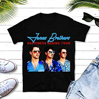 Jonas-Boyband Tour-Happiness 2019 Music Big Fans Gift, Tour Concert Music Unisex T-shirt - Premium T-shirt - Hoodie - Sweater - Long Sleeve - Tank Top