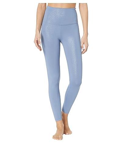 Beyond Yoga Twinkle High Waisted Midi Leggings (Serene Blue/Blue Dizzy Twinkle) Women