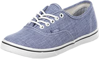 Vans U Authentic Lo PRO (Chambray) Blue, Sneaker Unisex Adulto