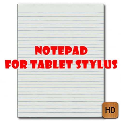 notepad for tablet stylus